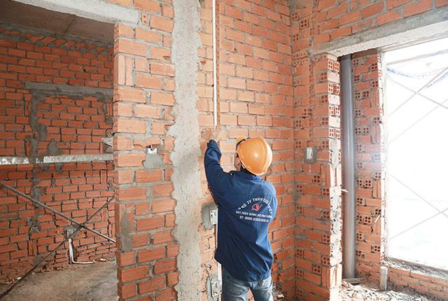 Thi công hệ thống M&E căn hộ tầng 16 Block A và Block B, tầng 17 Block C