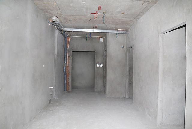 Tô tường bao căn hộ tầng 17 Block C