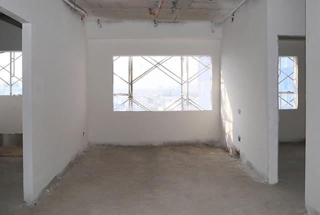 Bả sơn matit căn hộ tầng 8 Block A, tầng 9 Block B