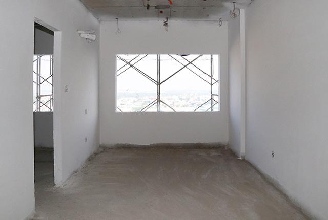 Bả sơn matit căn hộ tầng 13 Block C