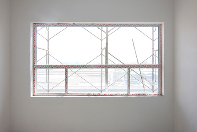 Lắp đặt khung cửa sổ căn hộ tầng 5 Block A, B và tầng 7 Block C