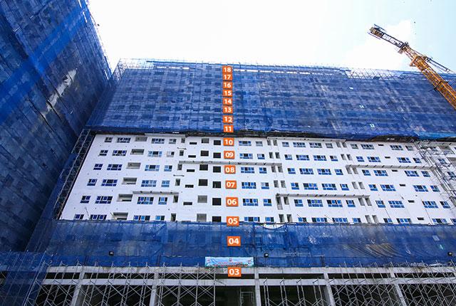 Hình ảnh tổng quan Block B 9 View