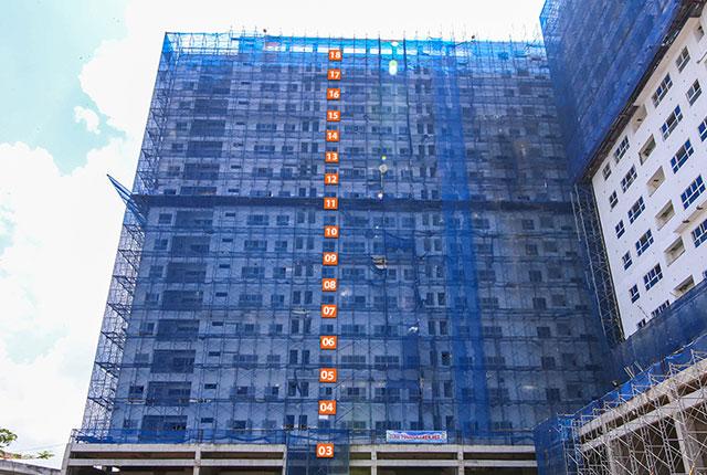 Hình ảnh tổng quan Block C 9 View Quận 9