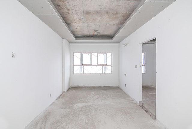 Sơn lót bên trong căn hộ tầng 17 Block A,B, C Căn Hộ 9 View