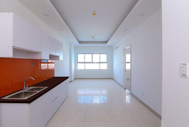 Một số căn hộ đã hoàn thiện và chuẩn bị cho kế hoạch bàn giao