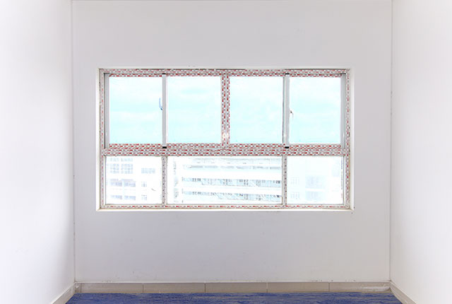 Lắp đặt cửa nhôm kính căn hộ tầng 4 - 17 Block A, B, C