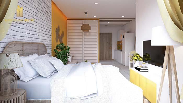 Nội thất căn hộ Studio Vinhomes Grand Park