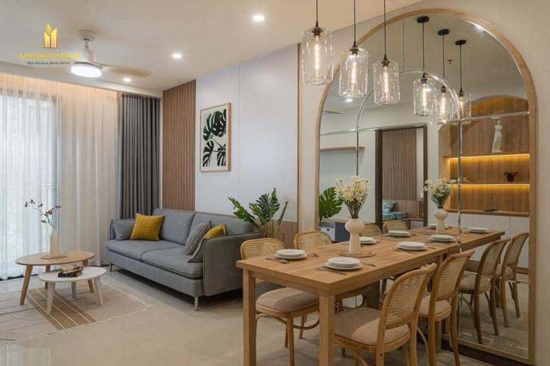 Thiết kế nội thất Vinhomes Grand Park căn hộ 1PN