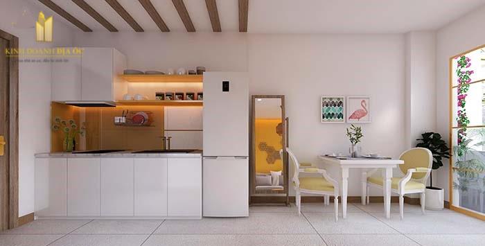 Thiết kế nội thất căn hộ Studio Vinhomes Grand Park