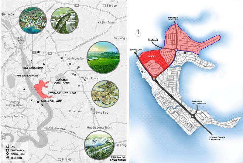 Liên Kết Vùng Aqua City