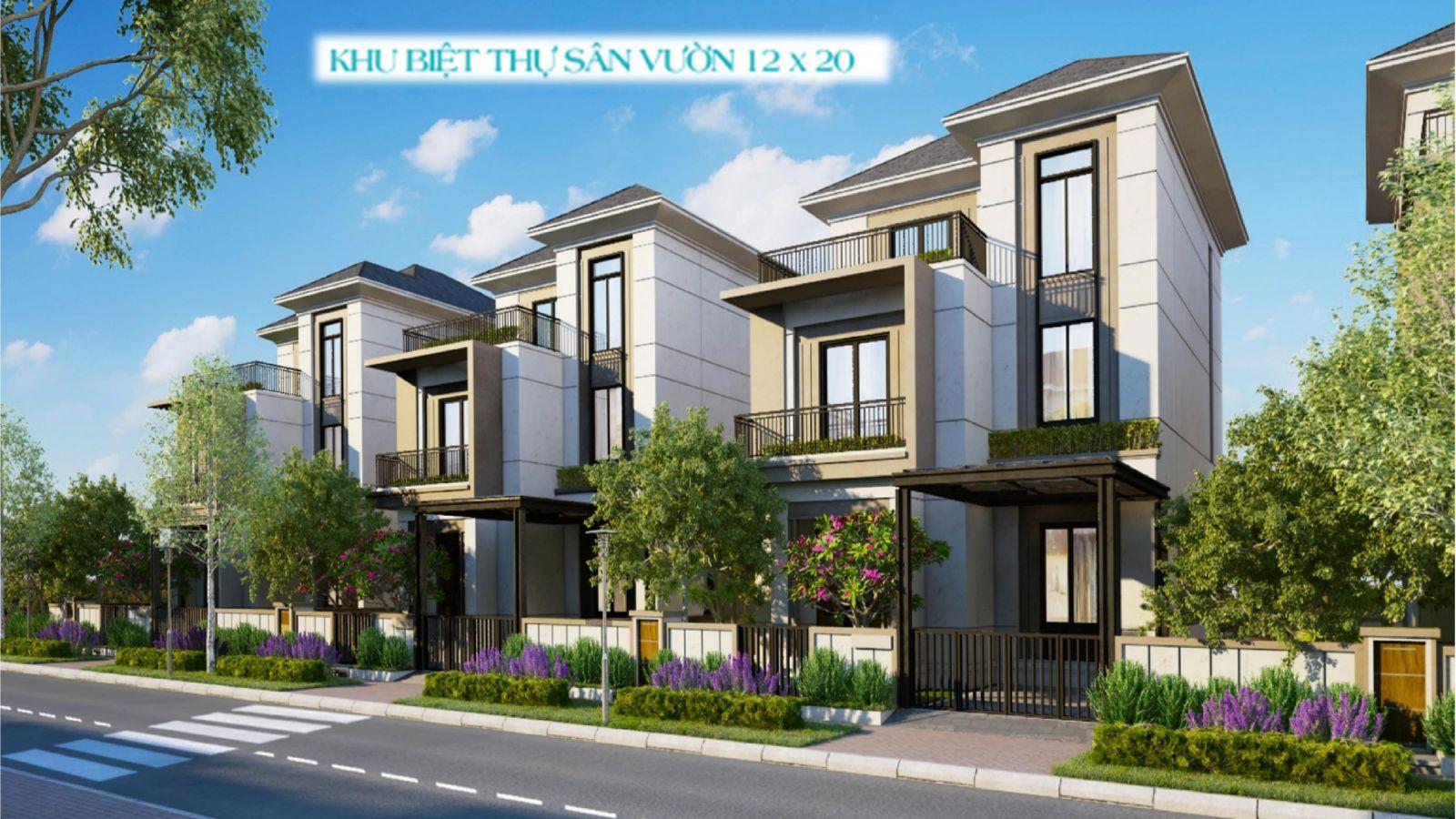Mẫu Biệt Thự Song Lập Aqua City Đồng Nai