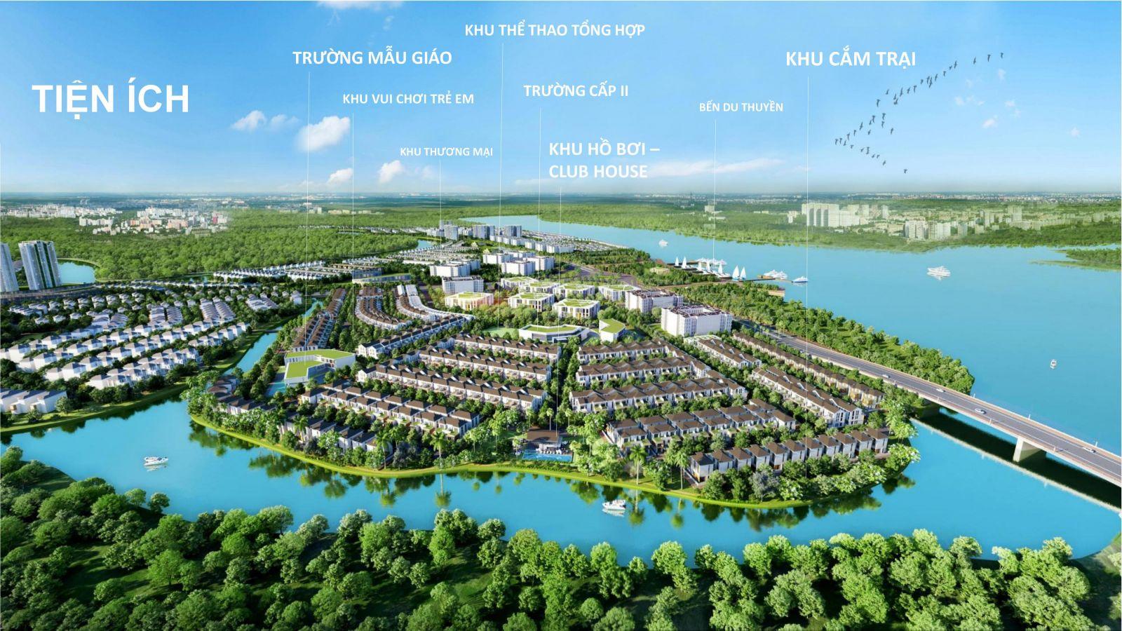 tiện ích dự án aqua city