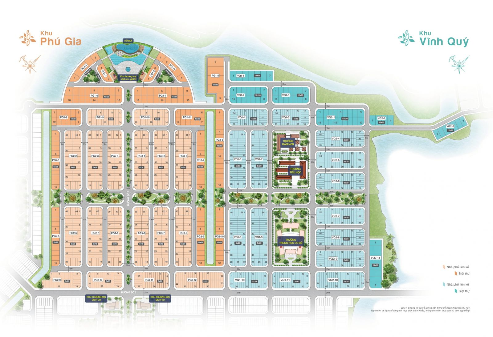 Mặt bằng Khu Phú Gia Biên Hòa New City