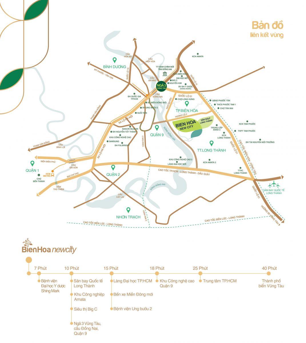 vị trí đất nền hưng thịnh đồng nai biên hòa new city