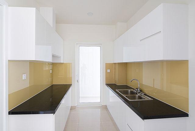 Hoàn thành công tác thi công lắp đặt tủ bếp căn hộ block A