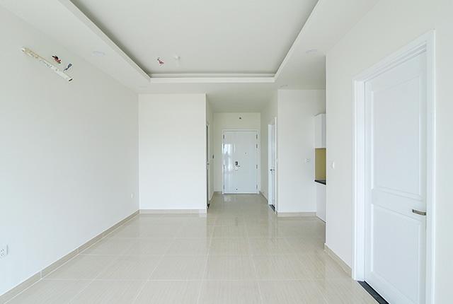 Hoàn thiện sơn nước căn hộ tầng 20 block A