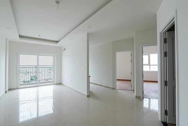 Hoàn thiện sơn nước căn hộ tầng 20 block C