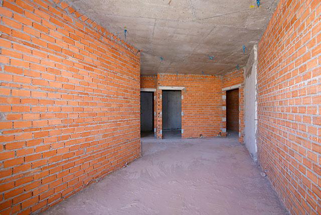 Công tác thi công xây tường tầng 19 block B