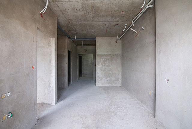 Công tác thi công tô tường căn hộ tầng 13 block A