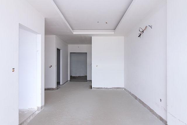 Bả sơn matit căn hộ tầng 17 block B