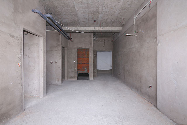 Công tác thi công tô tường căn hộ tầng 20 block C