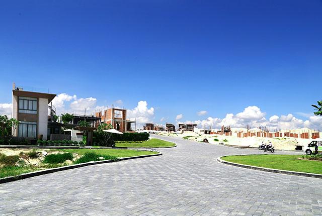 Đường nội bộ khu vực trung tâm