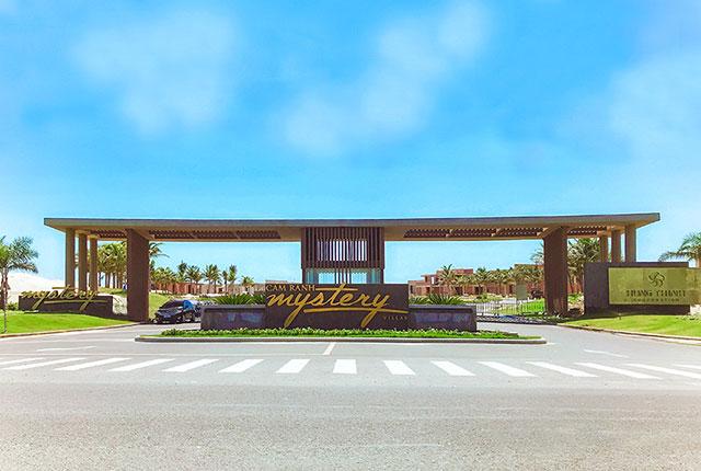 Hình ảnh cổng chào mặt tiền dự án