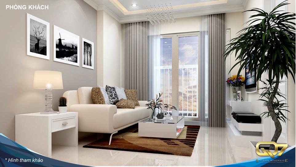 mẫu căn hộ q7 riverside