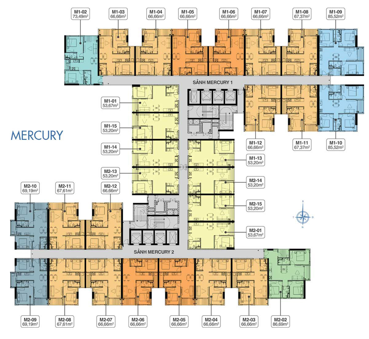 mặt bằng căn hộ q7 complex