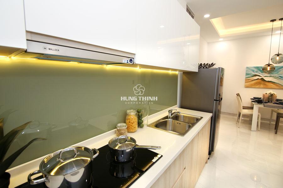Mẫu Phòng Bếp Căn Hộ 2 Phòng Ngủ Q7 Riverside