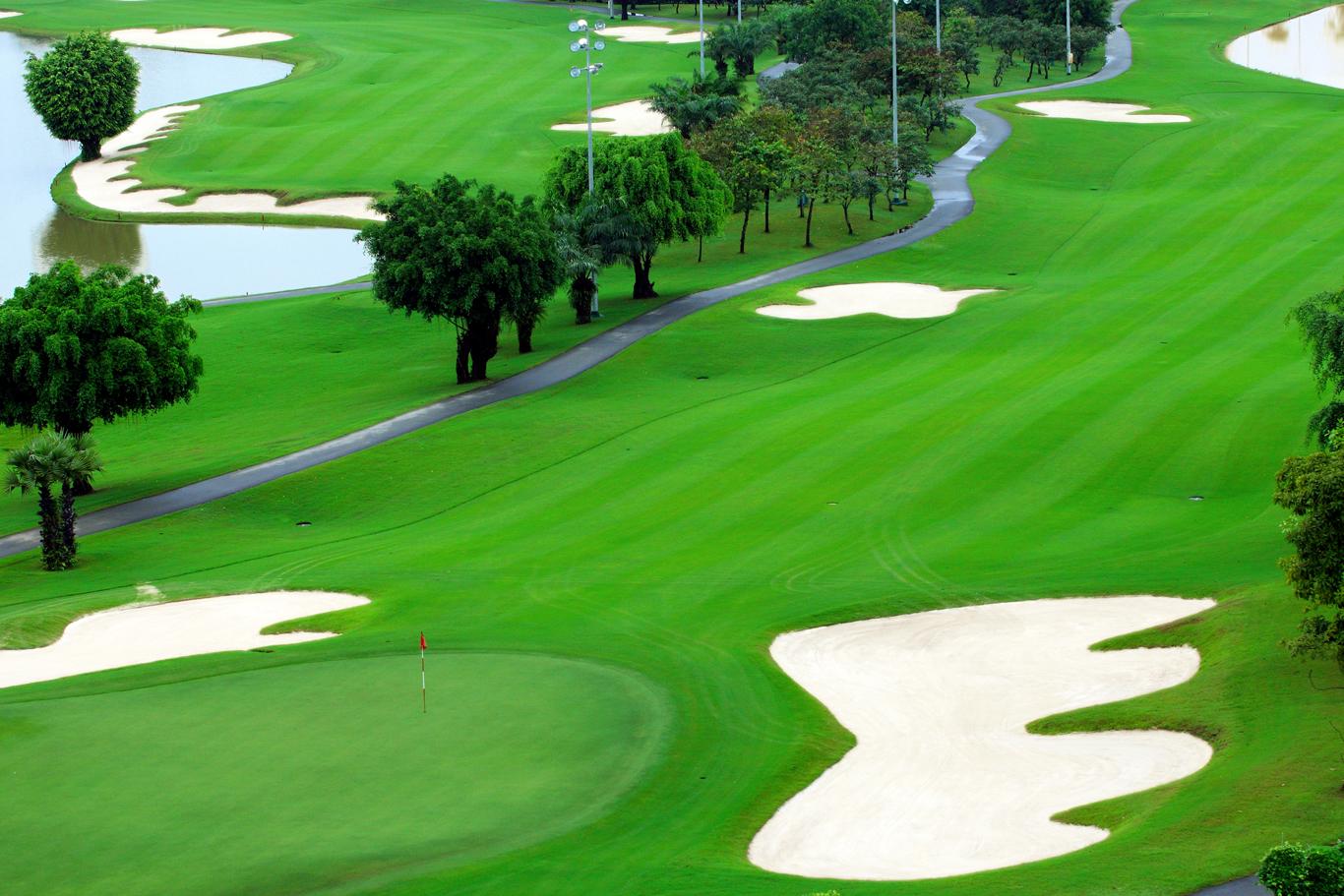 tiện ích nội khu biệt thự sân golf long thành hưng thịnh