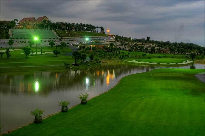 tiện ích khu biệt thự sân golf long thành hưng thịnh