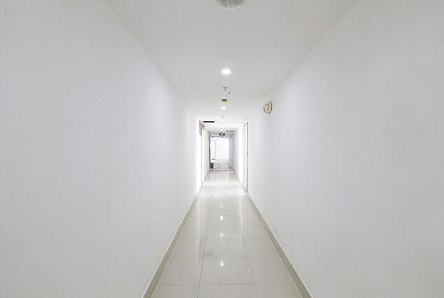 Đóng trần thạch cao hành lang từ tầng 4 đến tầng 18 Block A, B, C, D