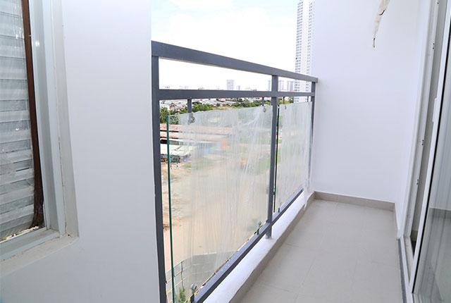 Lắp đặt lan can căn hộ từ tầng 4 đến tầng 18 Block A, B, C, D
