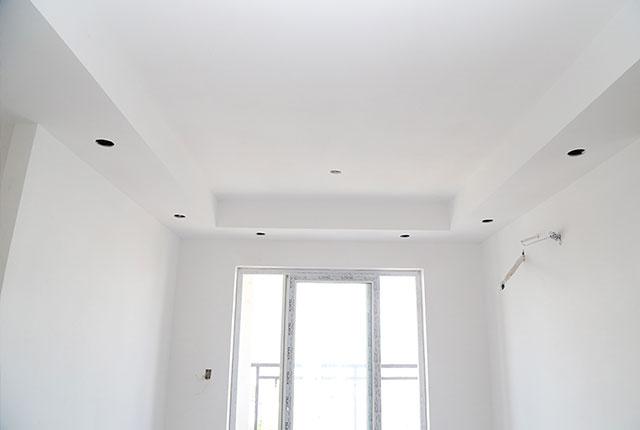 Tiếp tục đóng trần thạch cao căn hộ từ tầng 4 đến tầng 18 Block A, B, C, D