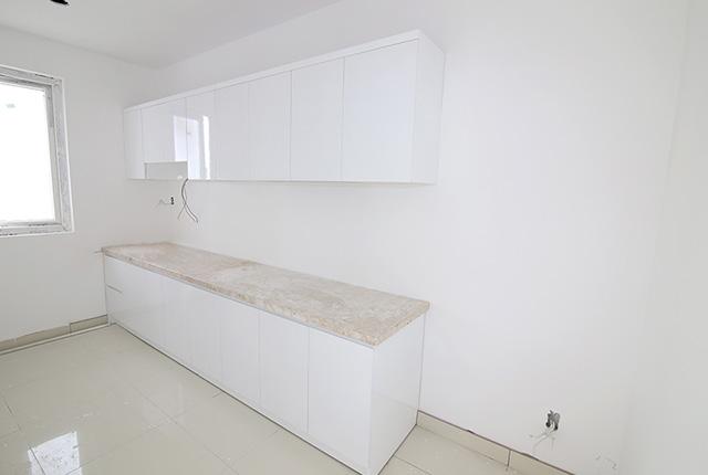 Lắp đặt tủ bếp tầng 6 và tầng 14 Block A, B, C, D
