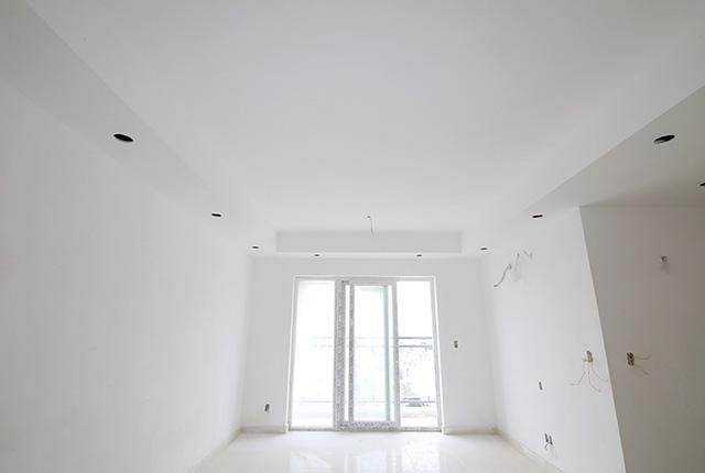 Đóng trần thạch cao căn hộ đến tầng 18 Block A, B, C, D