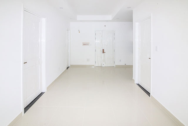 Tiếp tục sơn nước căn hộ từ tầng 6 đến tầng 18 Block A, B, C, D