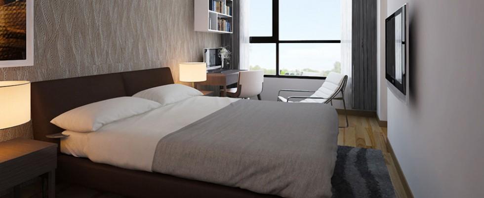 Phòng ngủ căn hộ Lavita Charm