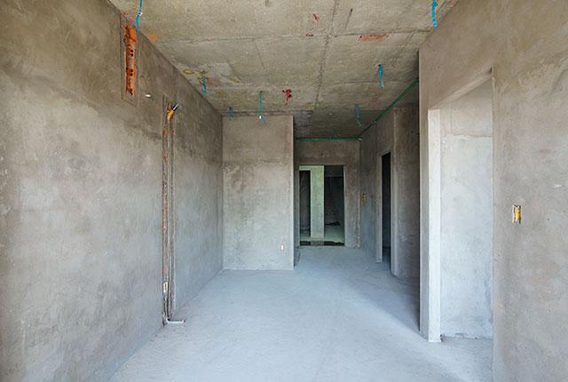 Tô tường căn hộ từ tầng 5 đến tầng 8 Block A1, Block A2, Block B và Block C