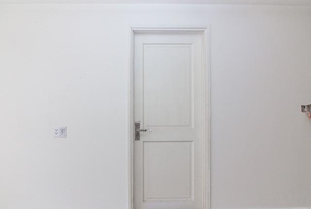 Lắp đặt hệ thống cửa phòng ngủ căn hộ tầng 20 Block A, B