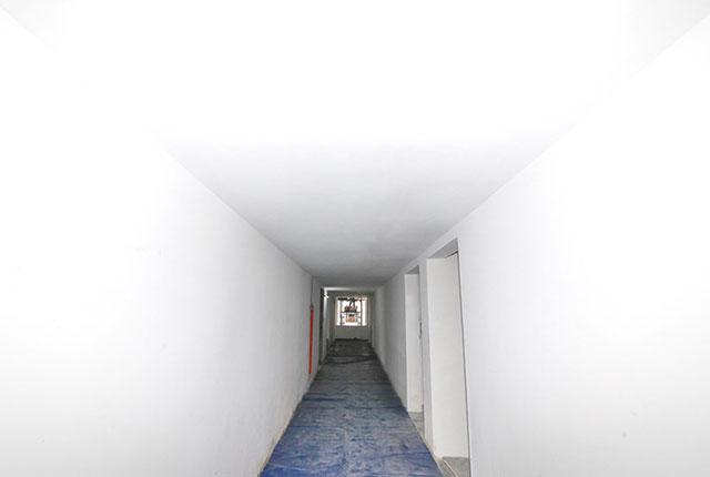 Thi công trần thạch cao hành lang căn hộ tầng 14 Block A, B