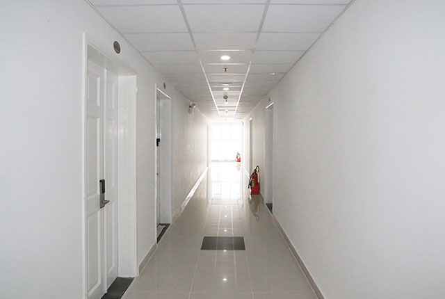 Hình ảnh hành lang khu căn hộ