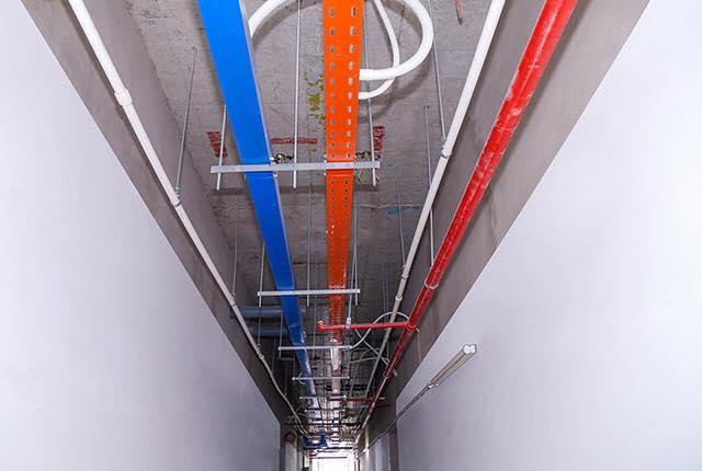 Lắp đặt hệ thống M&E tầng 26 block Central