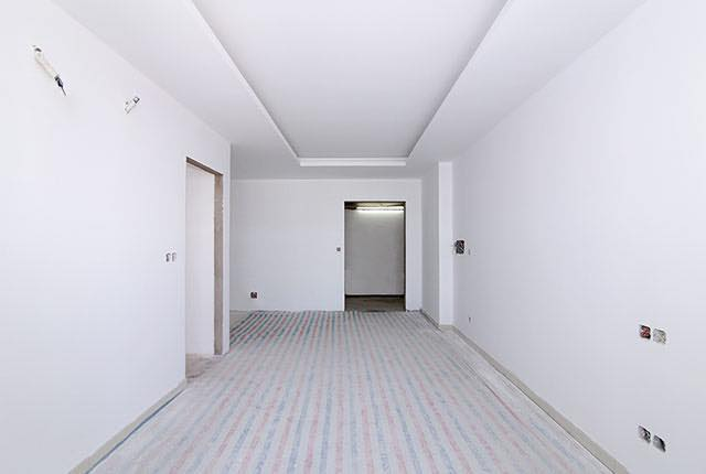 Sơn lót căn hộ tầng 6 - 25 block Central