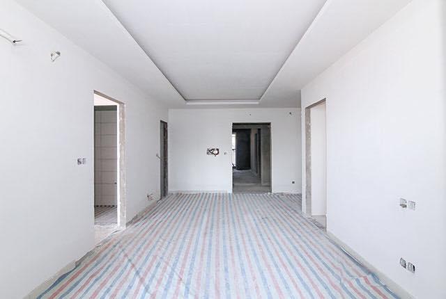 Hoàn thành sơn lót căn hộ tầng 6 - 20 block Southern