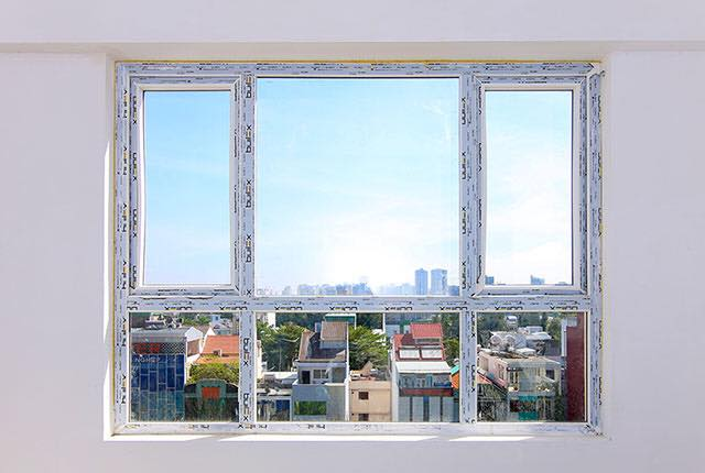 Lắp đặt cửa sổ phòng ngủ căn hộ tầng 6 - 20 block Southern