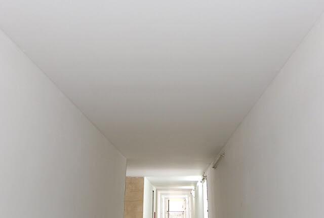 Thi công trần thạch cao hành lang tầng 5 - 21 block Northern