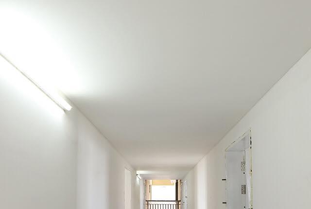 Thi công trần thạch cao hành lang tầng 5 - 21 block Southern