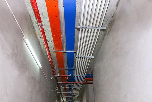 Lắp đặt hệ thống M&E tầng 18 block Northern